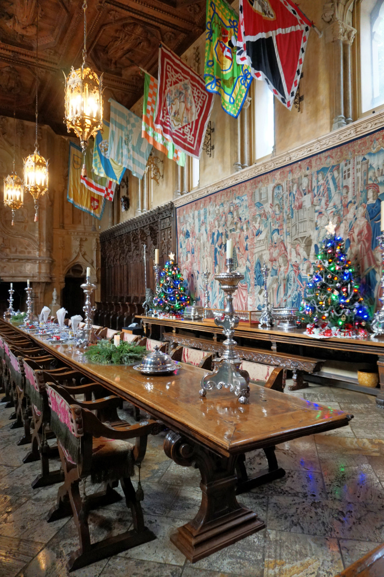 The Refactory or Main Dining Room, Hearst Castle