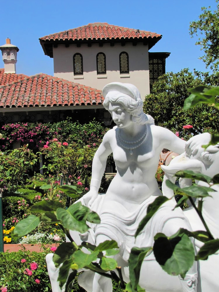 Gardens, Hearst Castle, San Simeon, California