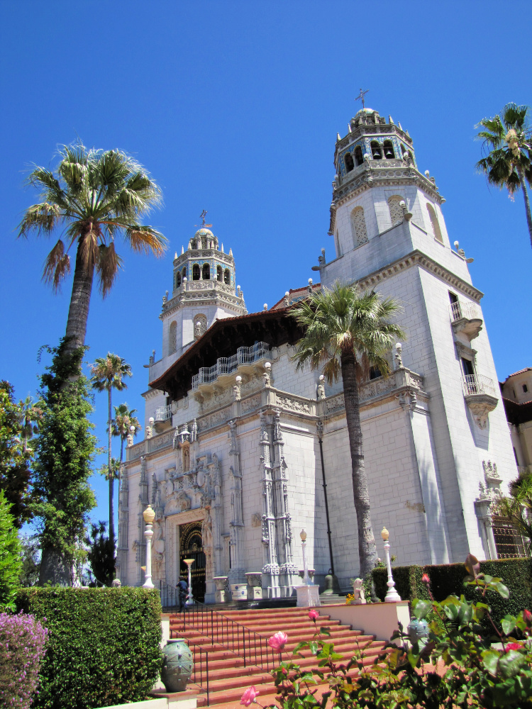 La Casa Grande, the main building of Hearst Castle