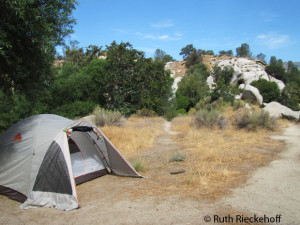 The Campsite, Sandy Flats, Lower Kern River, California