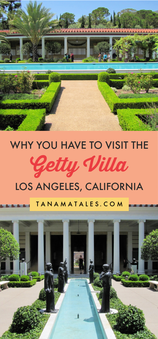 Tips for visiting the stunning Getty Villa | Things to do in Los Angeles | Things to Do in Pacific Palisades | Things to Do in Malibu | Getty Museums | Getty Villa Photoshoot | Getty Villa Instagram | Getty Villa Pool | Getty Villa Fountain | Getty Villa Garden | California Road Trip | Pacific Coast Highway Road Trip | Los Angeles Free Attractions | Los Angeles with Kids | Malibu Attractions | Malibu with Kids