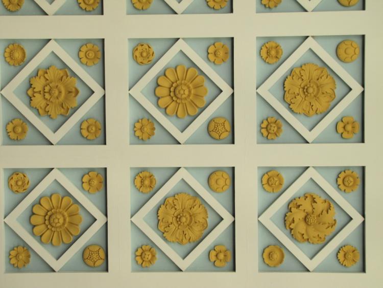 Ceiling Details, Getty Villa, Malibu, California