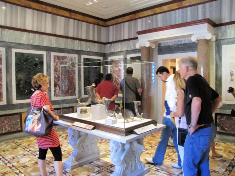 The Marble Room, Getty Villa, Malibu, California