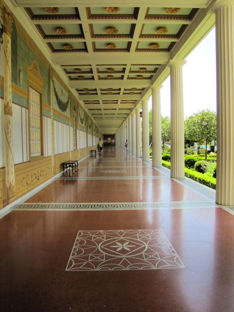 Getty Villa Hall