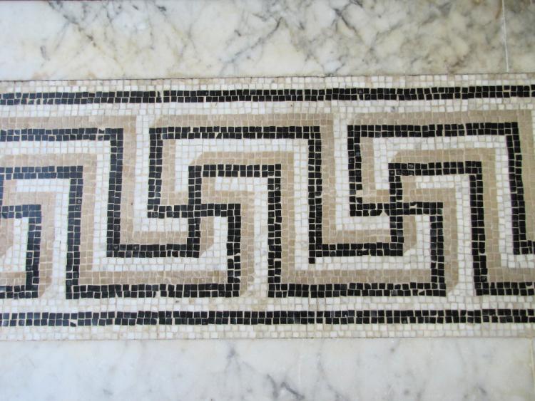 Floor Details at Getty Villa