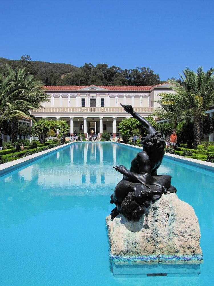 The Villa, Getty Villa, Malibu, California