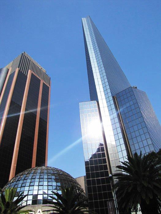 Modern Buildings in Paseo Reforma