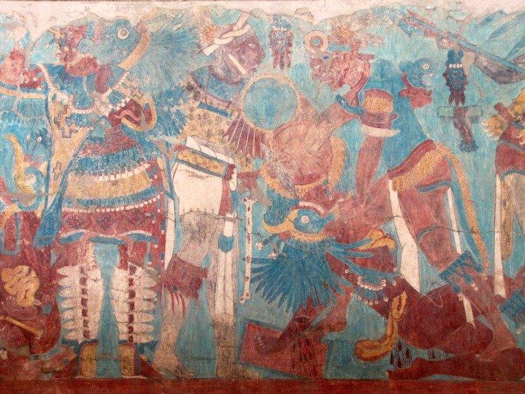 Cacaxtla, Tlaxcala, Mexico, archaeological site