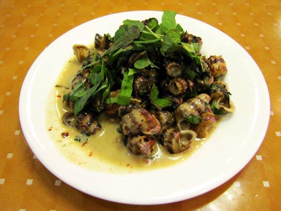 Len Snails in Coconut Milk