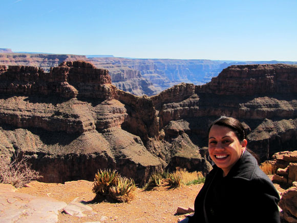 At the Gran Canyon West