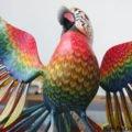 Parrot Alebrije (high quality), Arrazola, Oaxaca, Mexico
