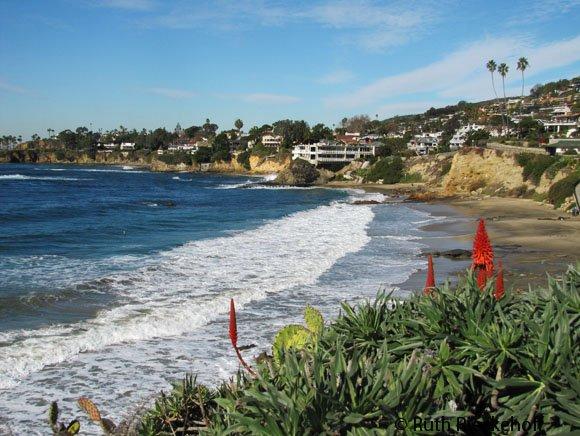 View from Heisler Park, Laguna Beach, California