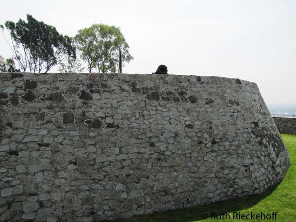 Guadalupe Fort's Defensive Walls
