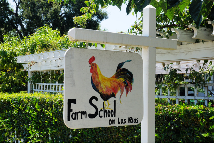 The Farm School at Los Rios Historic District