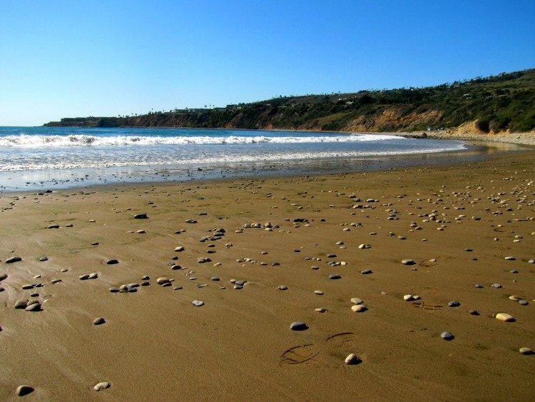 Beach at Abalone Cove Shoreline Park, Palos Verdes Peninsula, Los Angeles California
