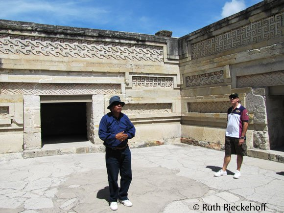 Inside The Palace, Mitla