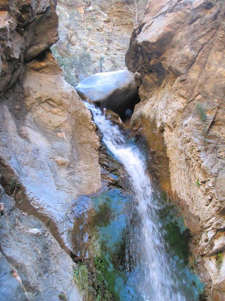 Upper part of Eaton Canyon Falls