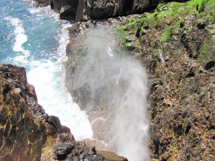 La Bufadora (blowhole) in Ensenada, Mexico