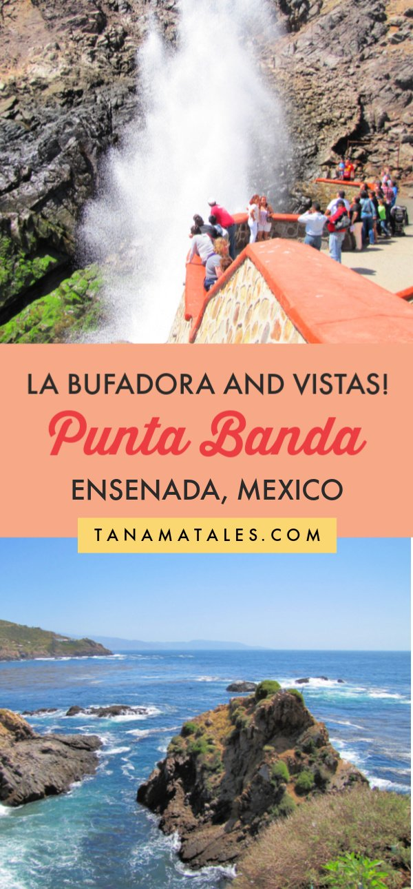 Things to do in #Ensenada, #Mexico - If you visit the port city of Ensenada, chances are you are going to be offered a tour to La Bufadora, a famous blowhole located on the Punta Banda Peninsula. On this article, I want to cover the area from the touristic and non-touristic perspectives.  Enjoy!