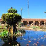 Mission fountain and pond, San Juan Capistrano