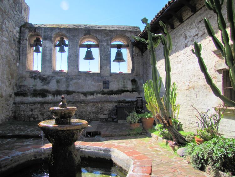 Mission bells, Mission San Juan Capistrano, California
