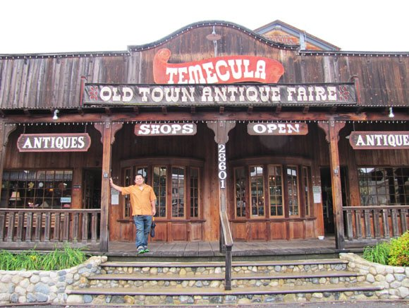 Antiques  Store, Old Town Temecula, California