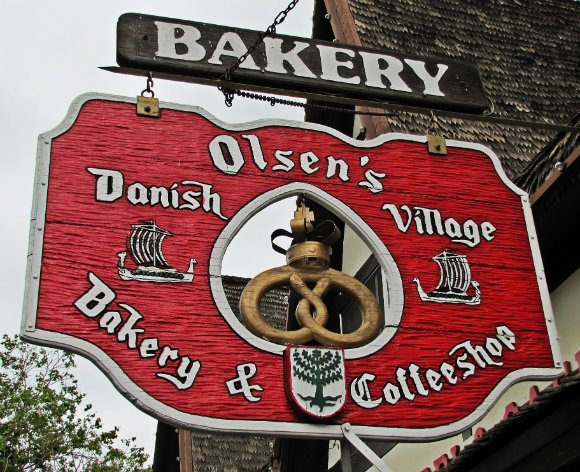 Olsen's Bakery Sign, Solvang, California