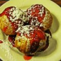 Solvang Bakeries, Aebleskiever at The Solvang Restaurant, Solvang, California
