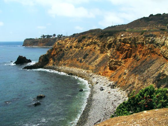 Cove to the south of Pelican Cove, Terranea's Bluff Top Trail, Palos Verdes, California