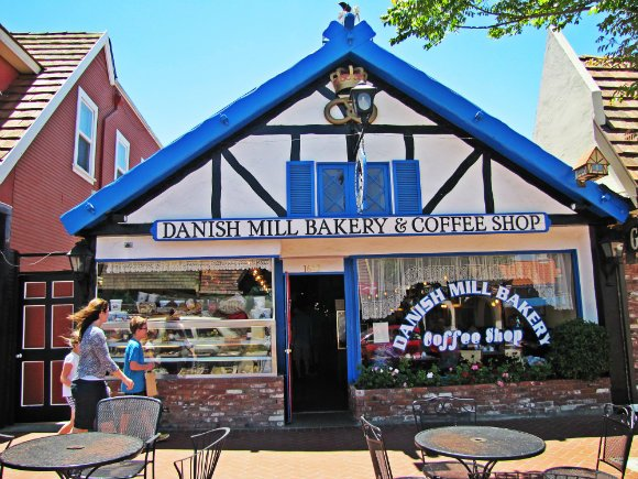 Danish Mill Bakery, Solvang, California