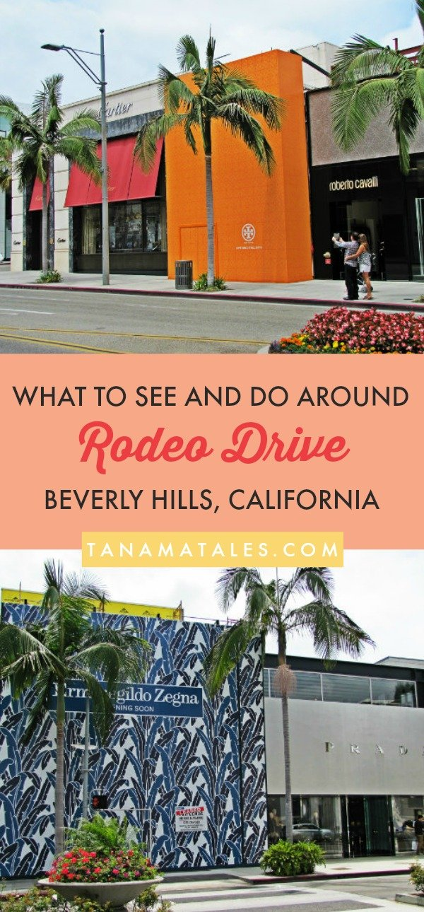 Things to do in Beverly Hills, #California – Travel and vacation tips / ideas - Rodeo Drive, is a 2-mile-long street, has been a shopping and luxury mecca since the late 60s.  However, you do not have to be a millionaire to enjoy what this place offers.  My guide will show you the best photo stops, suggestions for what to do in the vicinity and where to grab lunch or dinner.  Enjoy! #BeverlyHills #LosAngeles #LA #90210