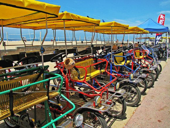 Bicycle, Huntington Beach, California