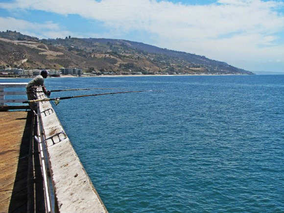 View from Malibu's Pier, Malibu, California