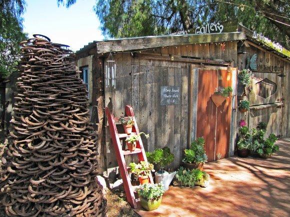 The Artist Gallery, Los Olivos, California