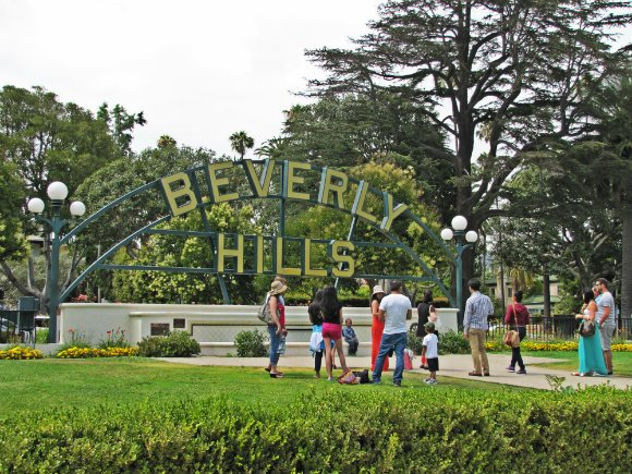 Beverly Hills Sign, Beverly Hills, California