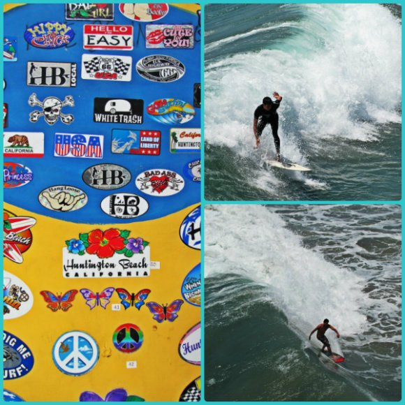 Huntington Beach Scenes (Surfing), California