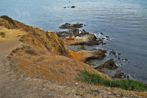 Rock Formations at Bluff Cove, Palos Verdes, California