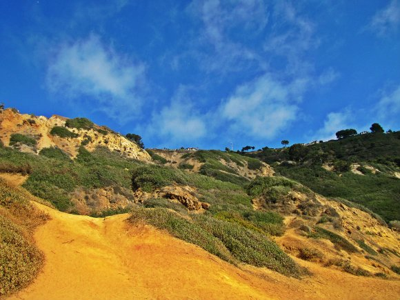 Cliffs at Bluff Cove, Palos Verdes, California