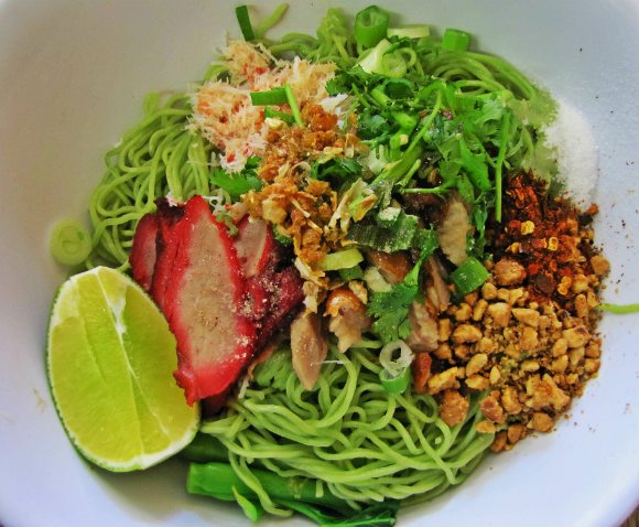 Jade Noodles, Sapp Coffee Shop, Thai Town, Los Angeles, California