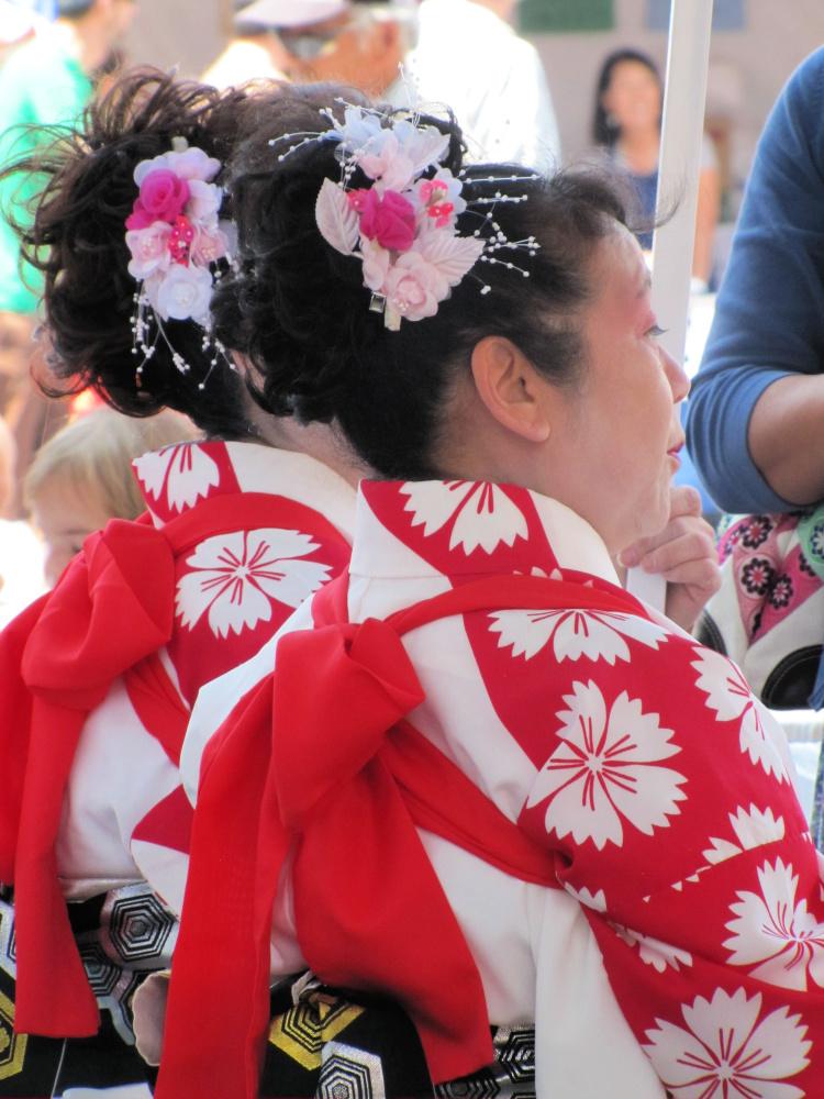 Japanese festival in Little Tokyo, Los Angeles
