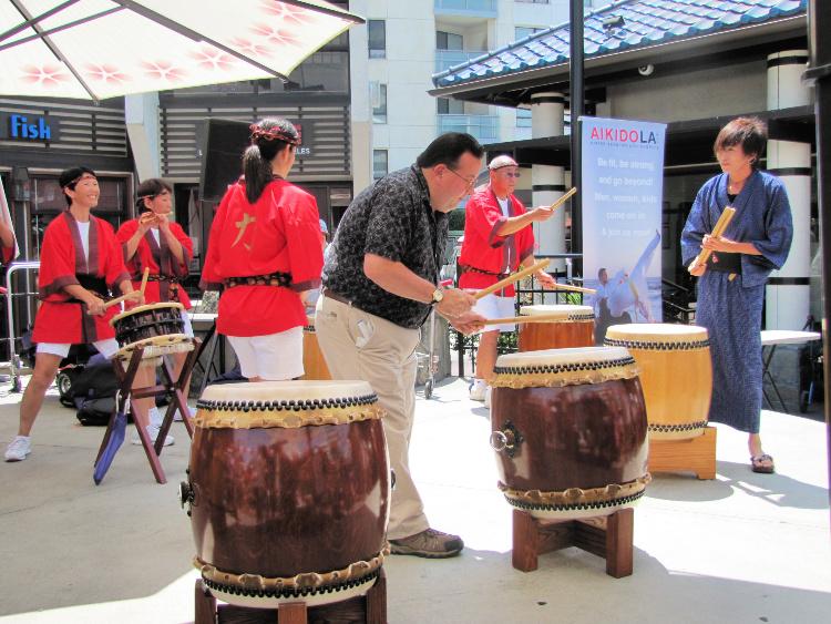 Drummers in Little Tokyo