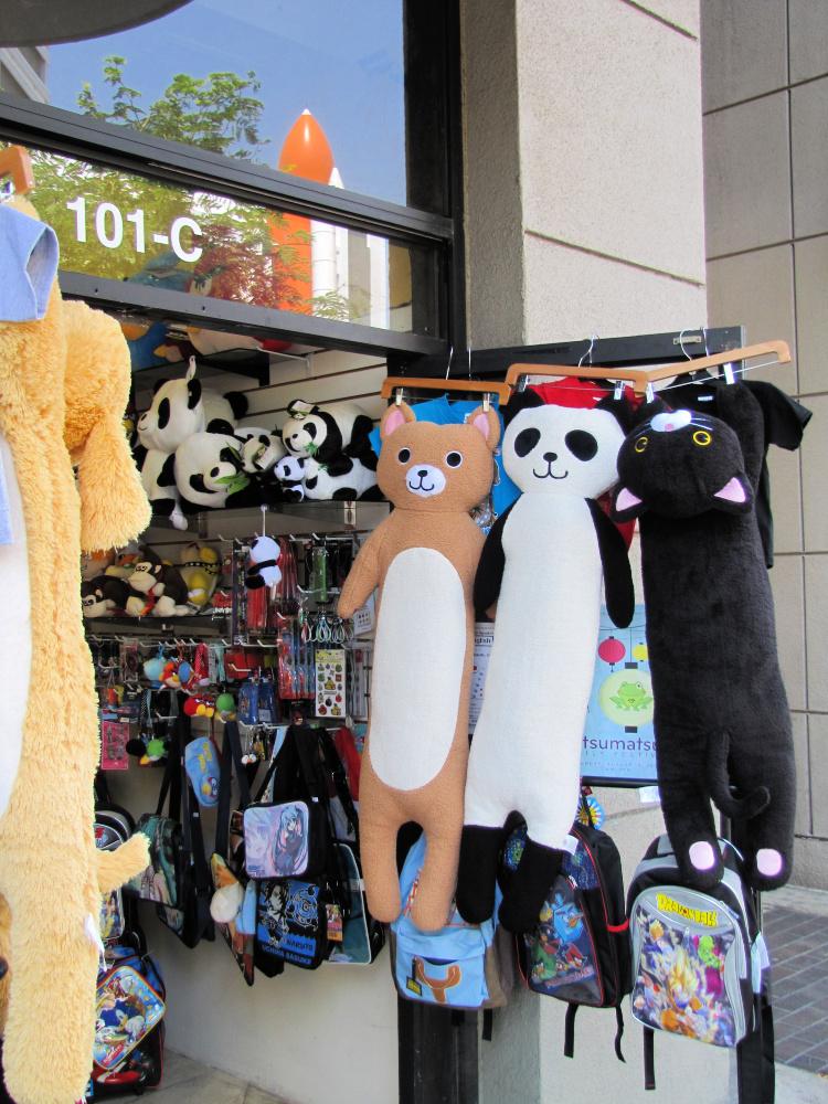 Shop in Little Tokyo, Los Angeles