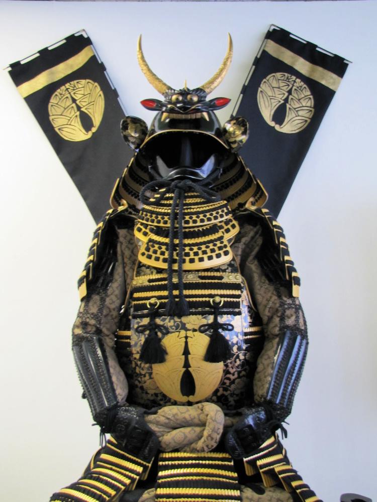 Samurai armor in Little Tokyo, Los Angeles