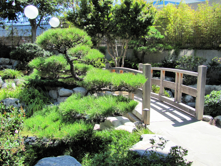 James Irving Japanese garden in Little Tokyo