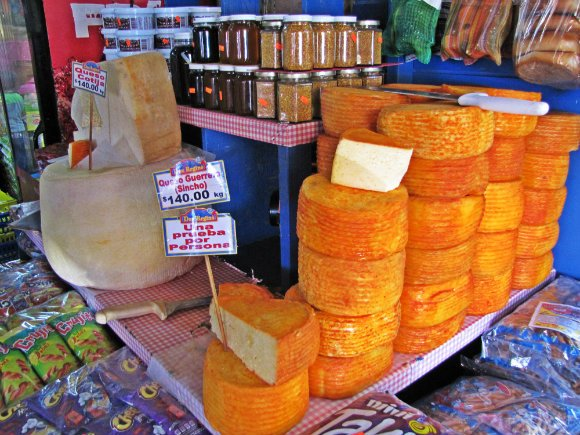 Cheese, Mercado Hidalgo, Tijuana, Mexico