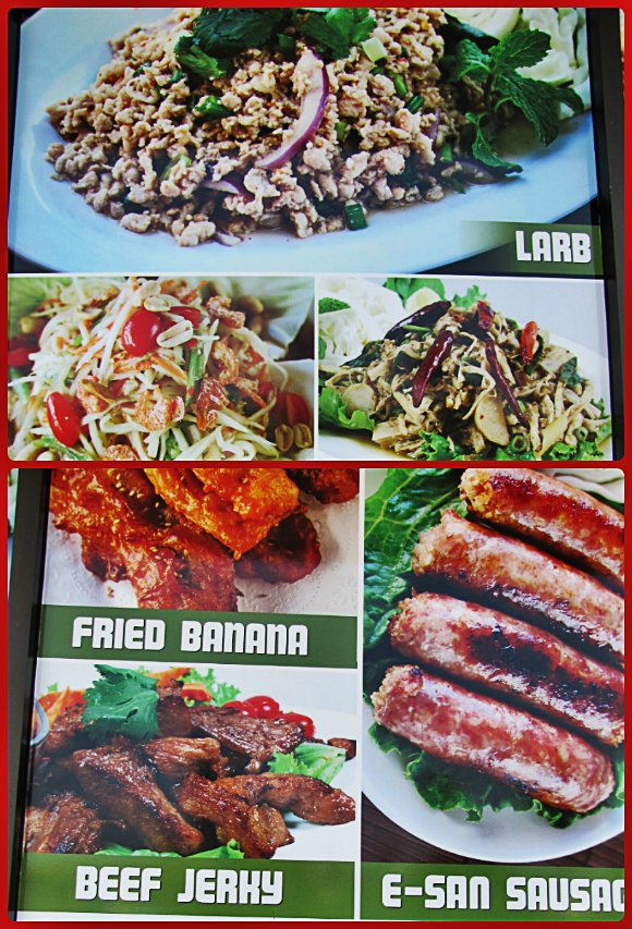 Dishes, Thai Town, Los Angeles, California