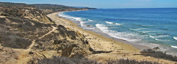 The Beaches at Crystal Cove State Park