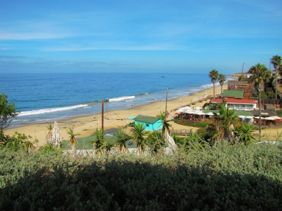 View from the Shake Shack Outdoor Patio, Crystal Cove, Laguna Beach, California