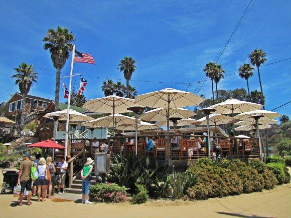 The Beachcomber Cafe, Crystal Cove, Laguna Beach, California