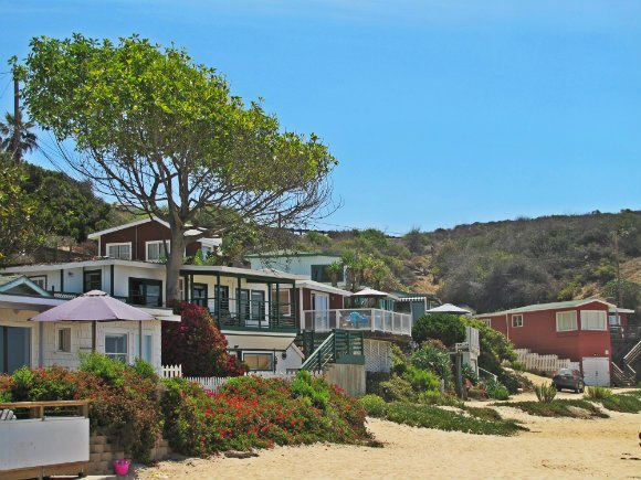 Cottages, Historic District, Crystal Cove, Laguna Beach, California